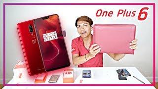 พรีวิว-oneplus-6-สีแดง-lava-red-สวยหยด-ความรู้สึกหลังแกะกล่อง