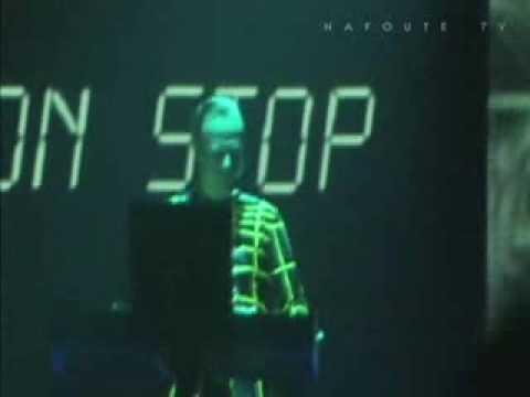 """Florian Schneider's last Kraftwerk gig - """"Music non stop"""" Zaragoza 20061111"""