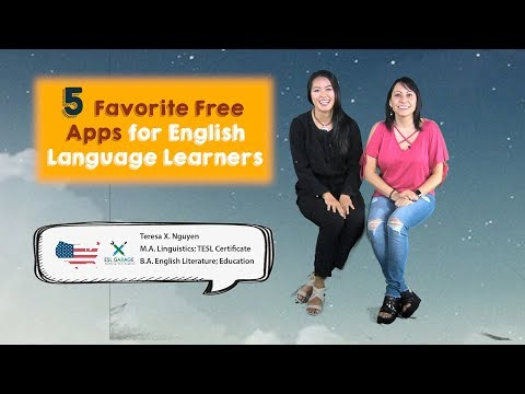 Back to School: 5 Best Mobile APPS for English Language Learners 📱📲|| ESL Students