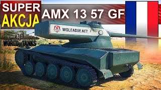 AMX 13 57 GF pierwszy medal Orlika - World of Tanks