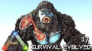 ARK: SURVIVAL EVOLVED - ELECTRIC MEGAPITHECUS CRAZY POWERFUL !!!   PARADOS GAIA AMISSA E17
