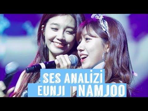 Eunji And Namjoo Voice Analysis