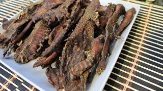 Spicy Low Sodium Chicken Jerky
