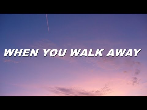 5sos - when you walk away (lyrics)