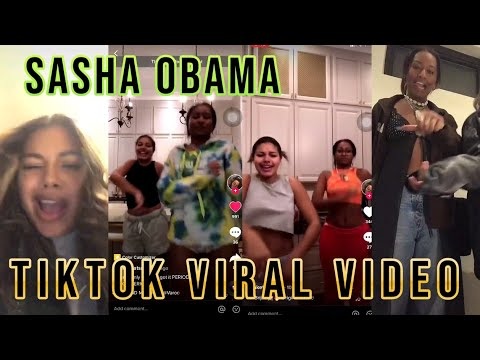 TikTok video of Sasha Obama rapping along to City Girls goes viral