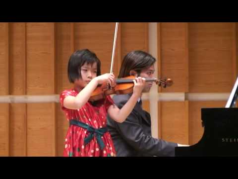 Viotti Concerto NO. 23 in G Major (Qingyu Chen, 8 yrs old), (Merkin Concert Hall at Kaufman Center)