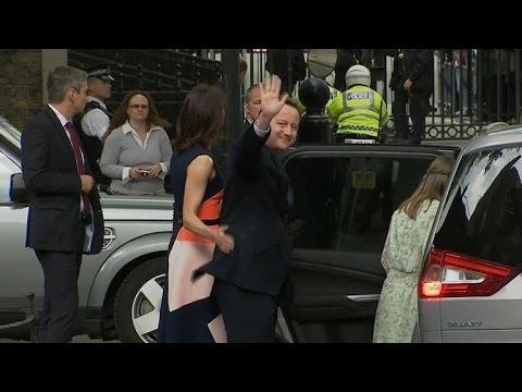 David Cameron makes final remarks as UK Prime Minister