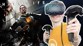 EXPERIENCE HALF LIFE IN VIRTUAL REALITY | Half Life 1: VR Mod (HTC Vive Gameplay)