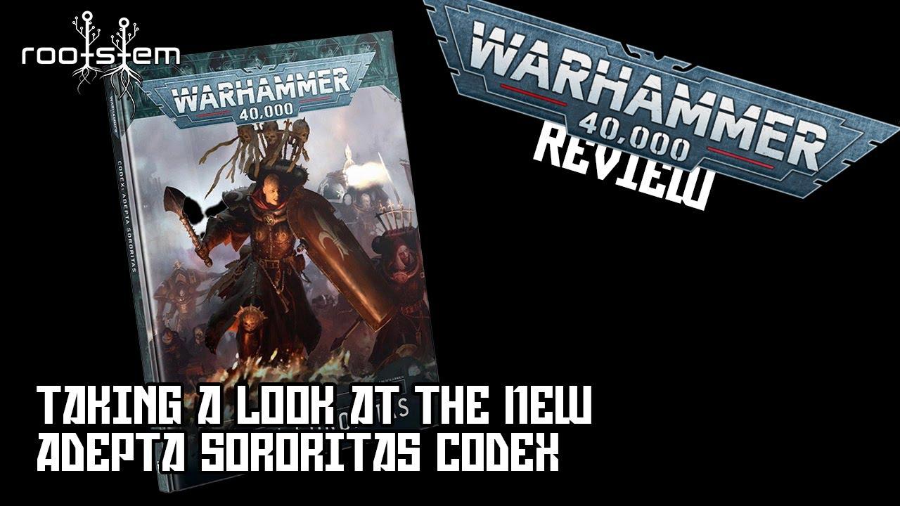 First look at New Adepta Sororitas Codex