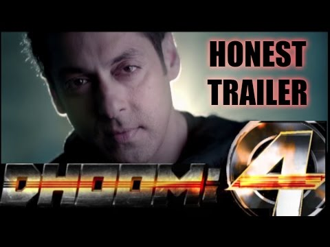 Dhoom : 4 (HONEST/Fake/Unofficial) Trailer feat. Salman Khan , Deepika Padukone.