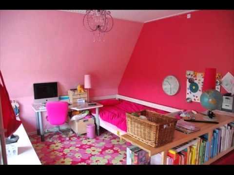 Best Design Idea : 40 Excellent Girl Bedroom Art - YouTube