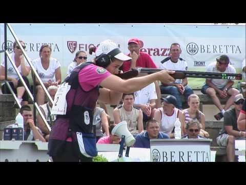 Чемпионат Европы по стендовой стрельбе 2016. Финал трап, женщины
