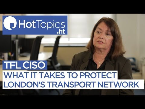 What it takes to protect London's transport networks