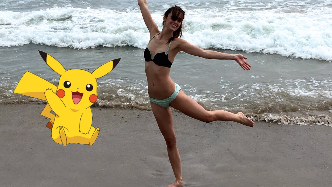 Pokemon Go Insanity At The Beach! - YouTube