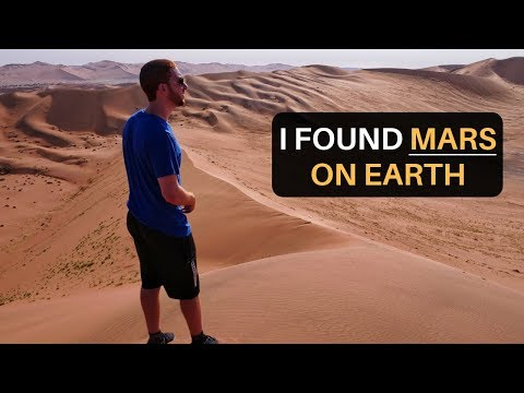 I FOUND MARS ON EARTH (NAMIBIA)