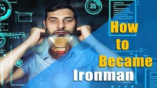 Photoshop CS6  - Turn yourself in Ironman