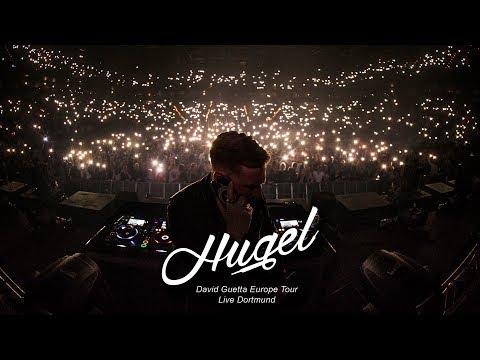 Hugel live dortmund - david guetta europe tour