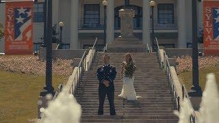 COURTHOUSE WEDDING! - Tiny Town Elopement // Jackson County Public Library - Sylva, North Carolina