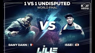 Download Video Bboy ISSEI vs  DANY DANN - Finale 1 vs 1 Undisputed | Lille Battle Pro 2018 MP3 3GP MP4