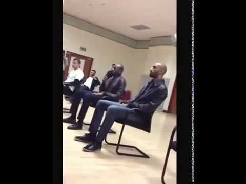 Abou Diaby || Arsenal Footballer || Beautiful Quranic Recitation || East London Mosque