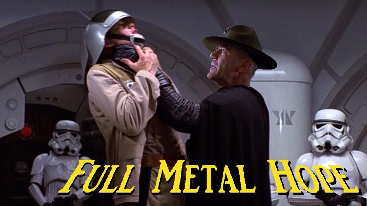 full metal hope 1 6 star wars meets full metal jacket youtube