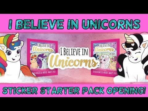 Sticker 80-Topps-I believe in unicornios