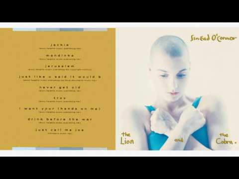 "Sinéad O'Connor ‎"" The Lion And The Cobra "" Full Album HD"