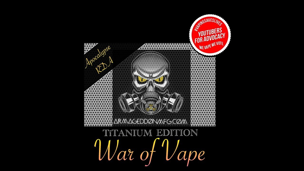 Titanium war of vape apocalypse rda by armageddon mfg coupon titanium war of vape apocalypse rda by armageddon mfg coupon code fandeluxe Gallery