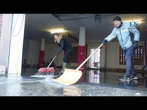Nach der Sturmflut: Das Aufräumen beginnt