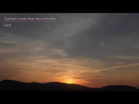 Country Folk Instrumental Music | Sunset over the Mountains | relaxing dreaming ambient spa