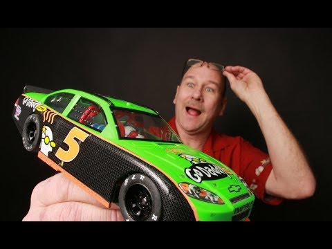 Building A 1/24th scale Pro-Track Nascar Hard Body Slot Car