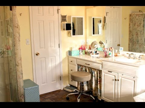 Decorating & Organizing Master Bath & Closet