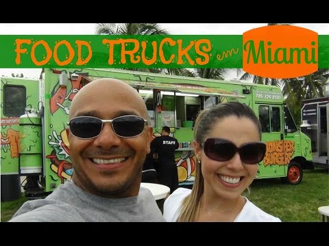 FOOD TRUCKS Festival em MIAMI