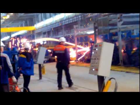 УГМК-Сталь, пусконаладочные работы. Завод Электросталь Тюмени.