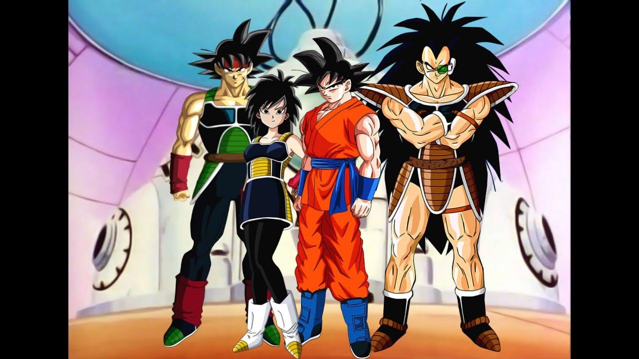 Que Hubiese Pasado Si Goku Iba A La Tierra Con Su Familia Parte 1 Youtube Personajes De Dragon Ball Personajes De Goku Dragones