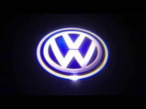 How To Install Door Welcome Logo Lights for VW Golf GTi EOS CC Polo Jetta Passat CAN-bus