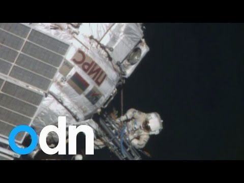 Six-hour spacewalk for cosmonauts oustide International Space Station