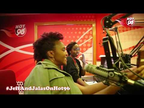 Viola Karuri singing along to her latest hit song Azizi