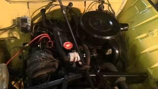 Notre 4L démarre avec son moteur comme neuf !!!