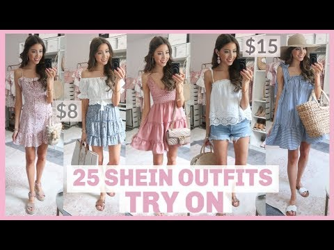 ce8abd4a5e30 25 OUTFITS FROM SHEIN | HUGE SHEIN TRY ON HAUL 2019 + REVIEW | Is it ...