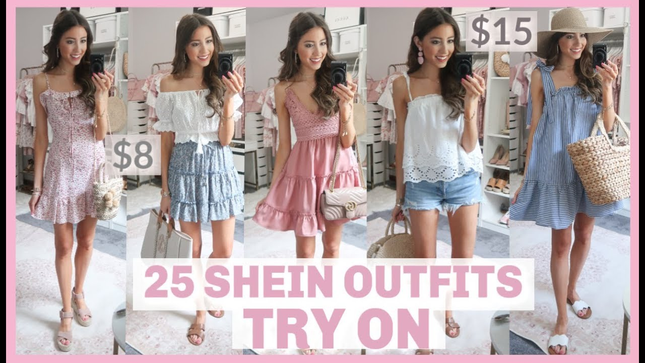4892e8db65a9 25 OUTFITS FROM SHEIN | HUGE SHEIN TRY ON HAUL 2019 + REVIEW | Is it worth  it?! - Best Female Tips