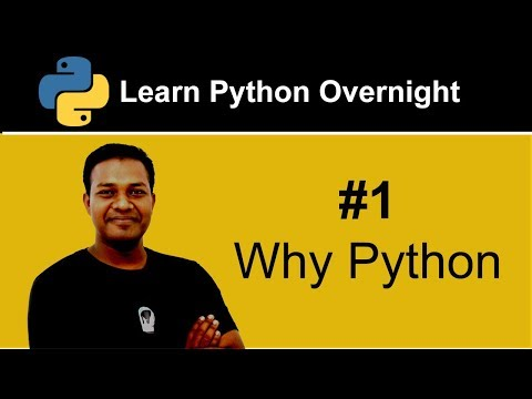 Why Python - Part 1 of Project CORE Python Prerequisite Course