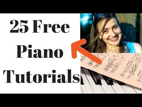 Greensleeves Piano Video Tutorial Easy Sheet Music