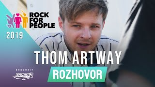 THOM ARTWAY (interview/rozhovor @ Rock For People 2019)