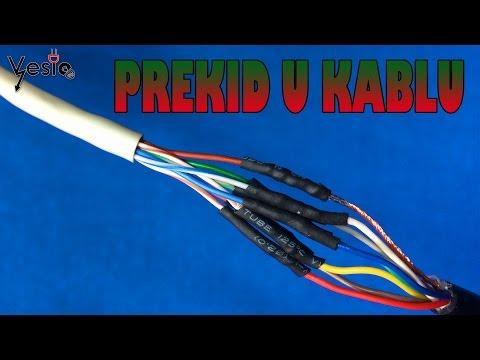 Kako popraviti zvucnike za racunar ( kablovi u prekidu )