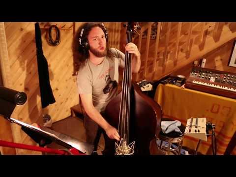 The Prisoner (recording session) - Max Johnson, Ingrid Laubrock, Mat Maneri, Tomas Fujiwara