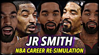 JR SMITH's NBA CAREER RE-SIMULATION | BECOMING A HALL OF FAMER? | NBA 2K21