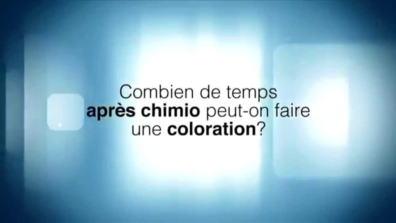 Combien de temps apr s chimio peut on faire une coloration youtube - Comment enlever une coloration ...