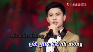 Hoa Nở Về Đêm - Karaoke -  Nguyễn Thành Viên - beat chuẩn thumbnail