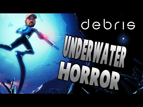 New Scary Underwater Survival Horror | Debris Let's Play Gameplay PC | E1